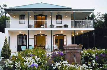 Akademie Straat Franschhoek guest house accommodation Franschhoek South Africa