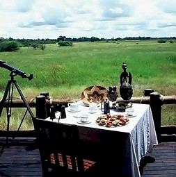 Cheif's Camp in the Okavango Delta Botswana
